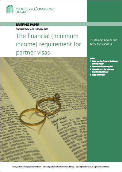 House of Commons Library updates briefing on financial (minimum